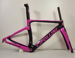 Wholesale Complete Bike Road - 2016 black red yellow white pink Cipollini NK1K RB1k T1000 3K racing full carbon fiber road frame bicycle complete bike frameset RB1000