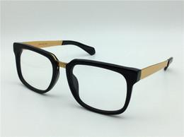 Wholesale Male Logos - new medusa glasses prescription eyewear 5165 frame vintage eyeglasses men designer eyeglasses squrare frame face logo with original case