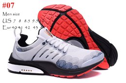 Wholesale Captain America Hockey - 2016 New Brand Presto Mens Running Shoes Top Quality Captain America Men AIR Sneakers Sports Trainers Size Eur 40-44