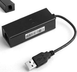 Wholesale Xp Laptop New - DHL fast Adroit New USB 56K V.90 V.92 External Dial Up Voice Fax Data Modem for Win XP VISTA 7 8 Linux JAN27