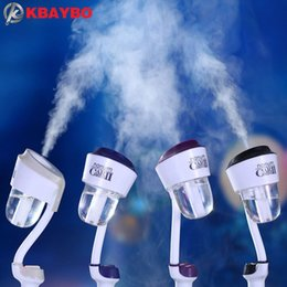 Wholesale Upgrade Power Supply - Upgraded 12V Car Humidifier Air Purifier Aroma Diffuser Essential oil diffuser Aromatherapy Mist Maker Fogger humidificador Merry Christmas