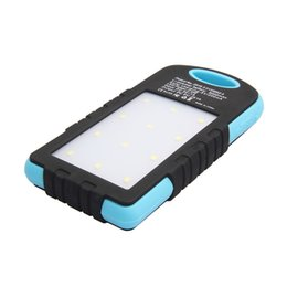 Wholesale Solar Charger Emergency Power - Outdoor LED Camping Emergency Power,Universal Waterproof Solar Charger Power Bank Backup With 12 LED Camping Lights Solar Panel Power