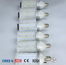 Wholesale Led Lamp E27 24v - 30W 40W 60W 80W 100W E40 E27 Corn Bulb LED Street Light AC 85-265V 12V 24V Led Street Lamp Outdoor Waterproof Vertical Garden Road Light