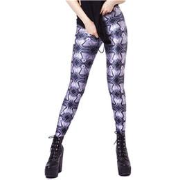 Argentina Al por mayor-2017 Mujeres primaverales de la manera delgados Leggings patrón divertido impreso Legging leggins femeninos suaves Suministro