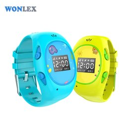 Wholesale Gps Sos Call Function - Wonlex 2016 New Arrial H1 GPS GSM Wifi Tracker Watch for Kids with SOS Function Android&IOS Anti Lost Kids GPS Watch