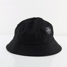 Wholesale Fun Christmas Hats - Fun Foldable Summer Bucket Hat With Latter Caps Bucket Hats Lover Casual Sun Cap Outdoor Fisherman Hat Cotton Drop Shipping