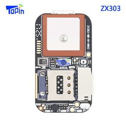 Wholesale Alarm Track Gsm Sms - ZX303 PCBA GPS Tracker Module MTK2503+3333+MTK5931 GSM GPS Wifi LBS Locator SOS Alarm Web APP Tracking TF Card Voice Recorder SMS Coordinate