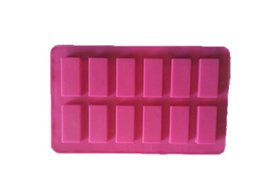 Wholesale Silicone Soap Molds Rectangular - rectangular Cake Mold Flexible Silicone Soap Mold For Handmade Soap Candle Candy bakeware baking moulds kitchen tools ice molds