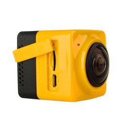 Wholesale Cube H - High quality Cube 360 Sports Video Camera WIFI H.264 360 Degrees Panorama Camera 360x190 Large Panoramic Shot Sports Camera In Retail Box