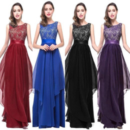 Wholesale Cheap Real Designer - Vintage Lace A Line Cheap Chiffon Bridesmaid Dresses 2017 Real Image Exquisite Long Maid of Honor Gowns Formal Wedding Guest Dresses CPS251