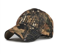 Wholesale Mens Casual Military Army - Mens Army Military Camo Cap Camouflage Hats Baseball For Men Hunting Camouflage Women Blank Desert Camo Hat