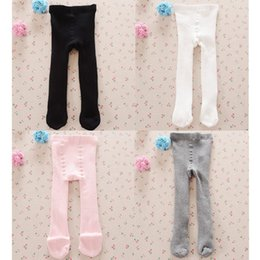 Wholesale Leggings Children Thick Fleece - Brand New Christmas Gift Baby Girls Pantyhose Children Leggings Thick Fleece Boots Pants Kids Leg Warmers 4 Colors Winter Tights
