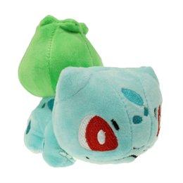 "Wholesale Banpresto Figure - Bulbasaur 7"" Pokem Pocket Monsters Plush Toy Figures Toys Banpresto Climb Soft Stuffed Anime Cartoon Dolls"