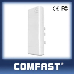 Wholesale Wireless Receiver Booster - 14dBi High Gain Outdoor Wifi Receiver 5KM Coverage COMFAST CF-E214N signal booster amplifier outdoor CPE AP receiver free