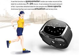 Wholesale Iphone Watches For Men - M26 bluetooth smart watch android wristwatch watch for iPhone Samsung android phone men casual watch 2016 hotsale