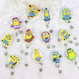 Wholesale Holder Pull - Silicone card case holder Bank Credit Card Holders Key Ring Retractable Pull Chain with Belt Clip ID Holder Badge Reel Strap Key Chains
