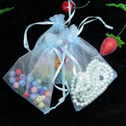 """weihnachtsgewebe billig Rabatt 20 Farben Sheer Organza Beutel 4 """"x 6"""" 10x15cm Hochzeit Gunsten Schmuck Geschenk Candy Bag viele Farbe Optional"""