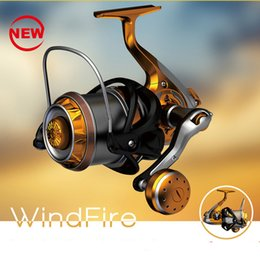 Wholesale Fly Casting - Super Long Casting Fishing Reels Fiber Carbon Body All Stainless Steel 9+1BB Saltwater Resistant 4000-9000 Patent Spinning Reel