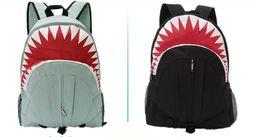Wholesale Computer Delivery - shark high quality Large capacity print shoulder bag, children cartoon bag pupil bag kany west justin bieber Back pack Free delivery