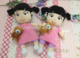 """Wholesale Doll Mikey - 20pcs Lot 13"""" girl Babblin Boo With Lil Mikey Plush Doll Toy 1206#06"""