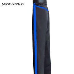 Wholesale Latin Pants - D098 - 3 Colors Male Latin Dance Pants for Men with Colored Strap Samba Dance Costumes Tango Samba Costume Dance Clothes Latin Pants