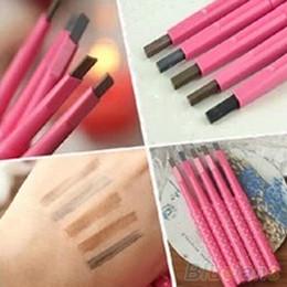 Wholesale Pencil Perfect - Wholesale-Hot1Pc Waterproof Perfect Longlasting Eyeliner Eyebrow Eye Brow Pencil Makeup Tool 8FWN