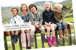 2016 New Real Australia Haute Qualité Kid Garçons filles enfants bébé 5281 neige chaude bottes Neige Bottes D'hiver Livraison gratuite ? partir de fabricateur