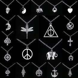 Wholesale Personalized Jewelry Friends - Chain Necklace Couple Sister Friend Friendship Jewelry Unique Personalized Gifts Yin Yang Pendants Necklaces