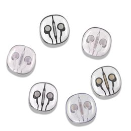 Wholesale New Android Cell Phones - 2018 NEW In Ear Grand Bass Wired Stereo Music Earphone Universal Earphones For Smart Phone Support Android For iOS iPhone metal headset 50pc