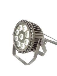 Wholesale Dmx Led Light Outdoor - Free Shipping 9pcs 5 in 1 Waterproof LED Par Light Festive Outdoor Illumination Outdoor Performance Dyeing LED Par Light Wedding Dyeing Ligh