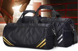 Wholesale Taekwondo Bags - 21 inch Nylon single shoulder circular taekwondo bag travel bag yoga pack gym bag