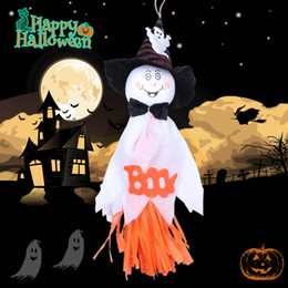 Wholesale Nightclub Decorations - Halloween ghost doll Creepy Prop Decor Scary Halloween Party House nightclub bar Decoration Props Easter Activated Ghosts festive supplies
