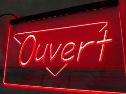 Wholesale Neon Light Open - LK150r- OUVERT OPEN LED Neon Light sign