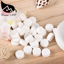 Wholesale Mini Health - New Arrival Summer 500pc lot Mini Portable Face Care Cotton Compressed Towel For Outdoor Travel Health Sports Magic Towel