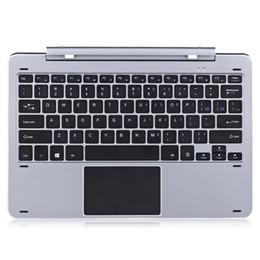 Wholesale Docking Keyboard - Multi Mode Rotary Shaft Aluminium Alloy Keyboard for Chuwi Hi12 Magnetic Docking Pogo Pin Separable Design for Playing Game Chat