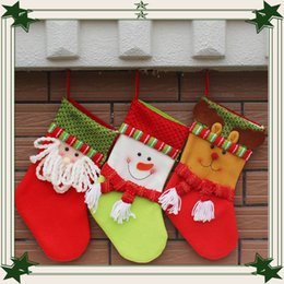 Wholesale Hot Festival - 2016 HOT sell Mini Sequins Socks Shining Christmas Stockings Christmas Decoration Supplies Decorations Festival Party Ornament