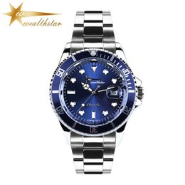 Wholesale Complete Clothes - top wealthstar brand luxury stainless steel band Men Rol Women x Brand watches men's Women's Clothing Watches quartz movt fashion watches