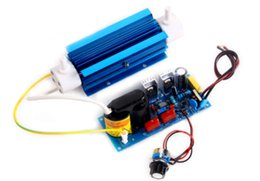 Wholesale Ozone Generator Free Shipping - 3g Silica Tube Ozone Generator 110V 220V Open Power Pack Ozone Output Adjustable + Free Shipping