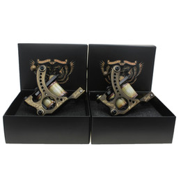 Wholesale Tattoo Machine Frames Supply - Coil Tattoo Machine Tattoo Gun Brass Frame For Tattoo Supply(Liner Shader)