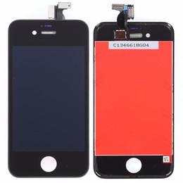 Белый черный ЖК-дисплей для Apple iPhone 4s ЖК-дисплей с сенсорным экраном Digitizer Ассамблеи с Frame + Free Shiping от Поставщики рама с сенсорным экраном iphone 4s