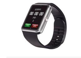 Лучший монитор камеры онлайн-Лучшее качество Bluetooth Smart Watch GT08 для Android IOS iPhone наручные часы носить поддержка синхронизации SIM-карты TF камеры шагомер сна мониторинга
