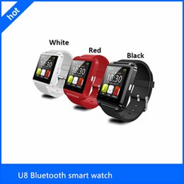 Wholesale Cheapest Fitness Wrist Watches - 2015 Factory wholesale cheap U8 smartwatch , U8 Bluetooth Smart Watch Phone Mate For Android&IOS Iphone Samsung LG Sony