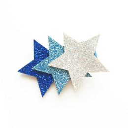 Head Wear Grip 15pc / Lot Blue Ocean Animal Dolphin Clip per capelli Dolce rosa Tre cuori Barrette per capelli Glitter Star Beach Regalo per feste cheap blue hair barrette da barrette capelli blu fornitori