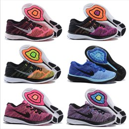Wholesale Cheap Shoes Line - 2018 Cheap LUNAR 3 Running Shoes For Women Classical Lightweight Fly Line Athletic Fashion Outdoor Hot Sale Sneakers US Size 5.5-8