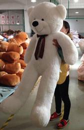 "Wholesale Brown Huge Teddy Bear - 63""GIANT HUGE BIG STUFFED ANIMAL WHITE TEDDY BEAR PLUSH SOFT TOY 160CM"