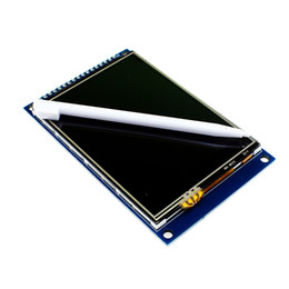 Wholesale Touch Screen Modules - Wholesale-LCD 3.2 inch TFT Touch Screen Module Display Ultra HD 320*240 ILI9341 for STM32 3.2'' 320*240 240x320 240*320