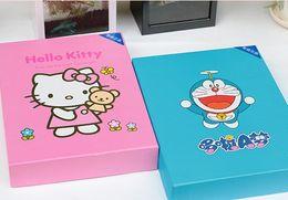 Wholesale Doraemon Mobile - Children and girls gifts hello kitty Mobile Power Bank Or Doraemon Power Bank Package 8800mah Power bank+ phone data cable + Headphones for