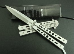 Wholesale Tactical Hand Tools - OEM Benchmade C26B Balisong Knives Hunting Tactical 3Cr13Mov 56HRC Steel Mini Folding Camping Pocket Knives Outdoor Survival EDC Hand Tools
