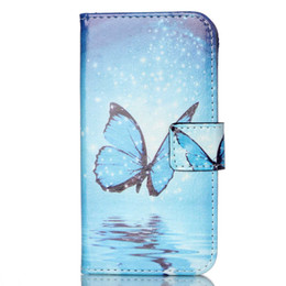 Wholesale Leather Folio Wallet - 300PCS Wallet Butterfly Heart Leather PU TPU Hybrid Soft Case Folio Flip Cover for Samsung Galaxy S7 Edge No Package