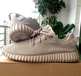 Wholesale Fishing Khaki - Updated Kanye West Shoes Boost 350 Sneakers Double Boxed,A Low-top Primeknit through the one-piece upper Running Shoes size 13